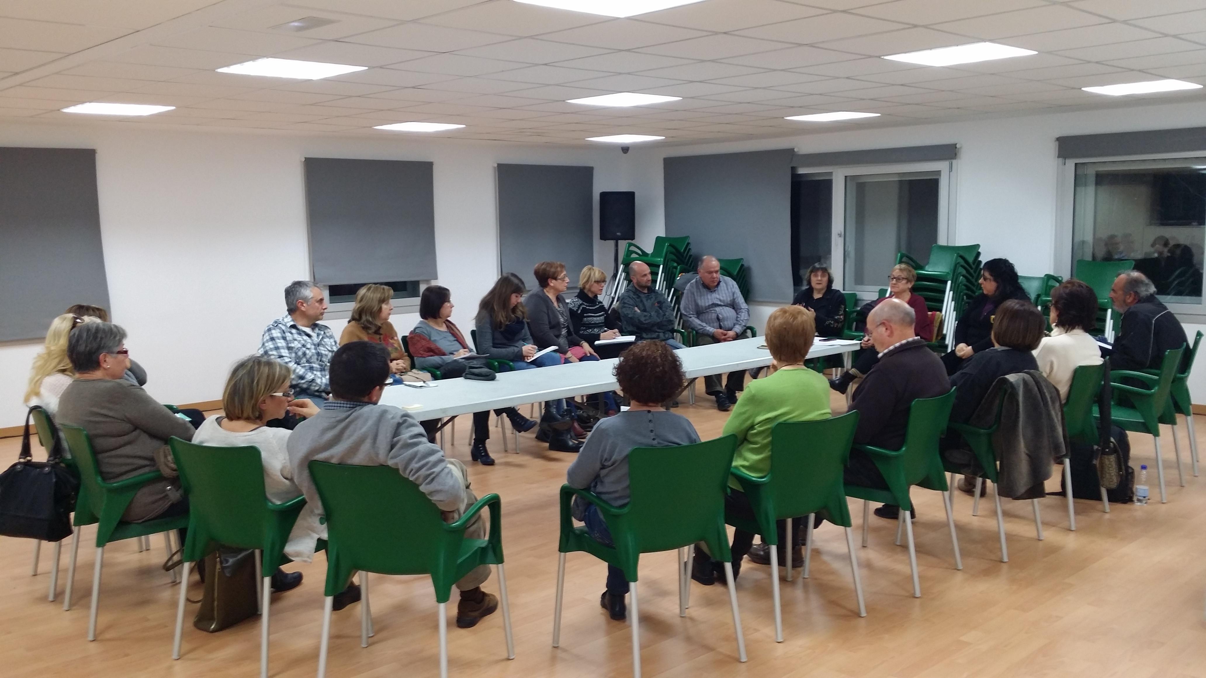 Reunió de la FCEC