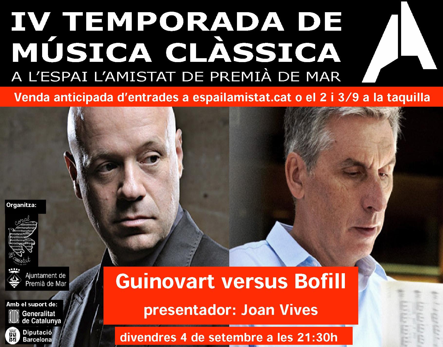 "Concert ""Guinovart versus Bofill"""