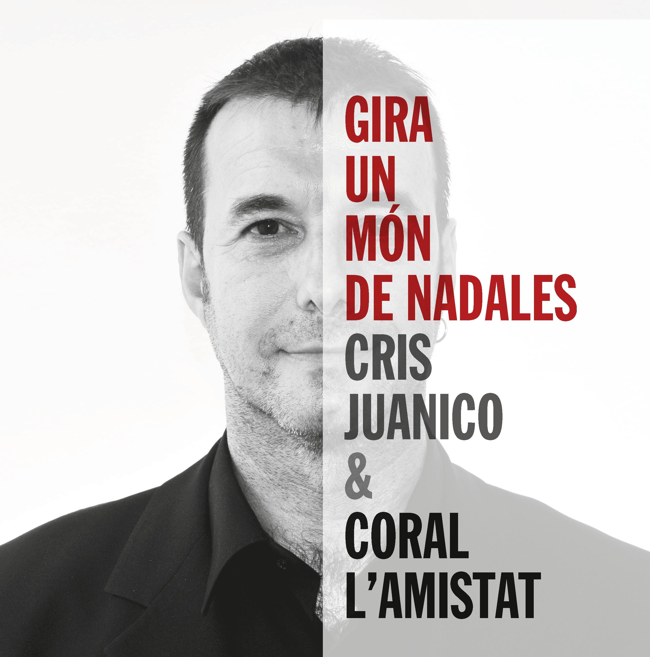 Cris Juanico i la Coral l'Amistat fan un regal nadalenc