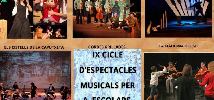 Comença a caminar el IX Cicle d'Espectacles Musicals